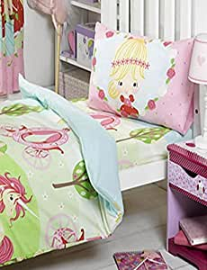 Pretty Princess and Unicorn, Junior Fitted Sheet by Disney Princess