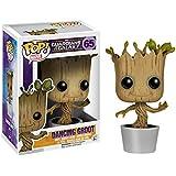 Guardians of the Galaxy POP! Vinyl Cabezón Dancing Groot 10 cm