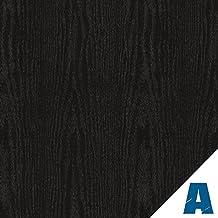 Artesive WD-035 Rovere Nero Opaco larg. 60 cm AL METRO LINEARE - Pellicola Adesiva in vinile effetto legno per interni per rinnovare mobili, porte e oggetti di casa