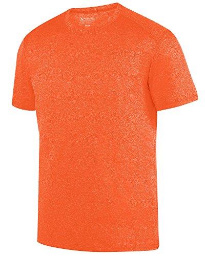 Augusta Herren T-Shirt Orange Heather