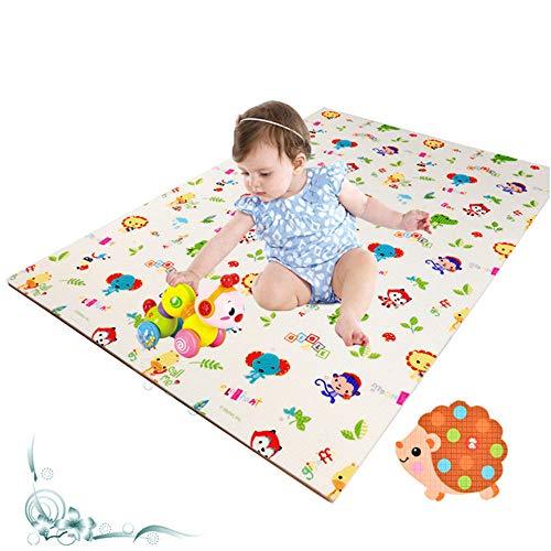 DYMAS Kinder Verdickung Wärmedämmung Feuchtigkeit Beweis Puzzle kriechenden Matte - Feuchtigkeit-beweis-matte