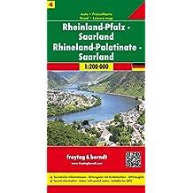 Carte routière : Rheinland-Pfalz, Saarland