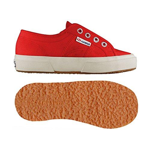 Chaussures Le Superga - 2750-cotj Slipon - Bambini red