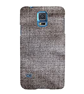EPICCASE Faded black jean Mobile Back Case Cover For Samsung Galaxy S5 Mini (Designer Case)
