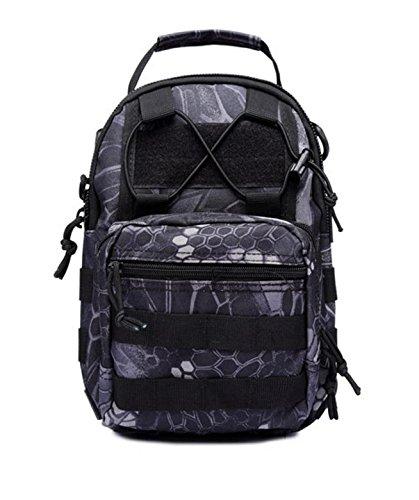 HCLHWYDHCLHWYD-Petto borsa zaino tracolla camuffamento fan dell'Esercito borsa a tracolla escursioni tracolla all'aperto , 13 8