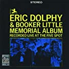 Memorial Album: Recorded Live At The Five Spot Live Edition by Dolphy, Little (1991) Audio CD