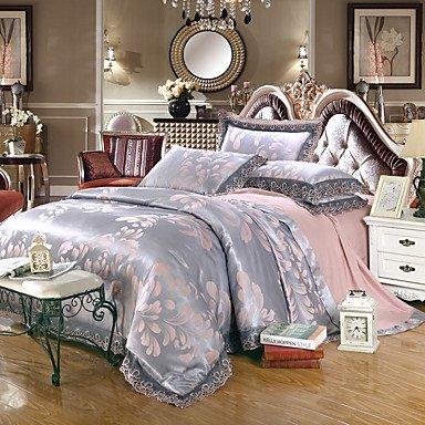 AIURLIFE Tejido Tencel Jacquard satinado camas modelos boda Suite 4 1.5M-1.8M/2.0M , king