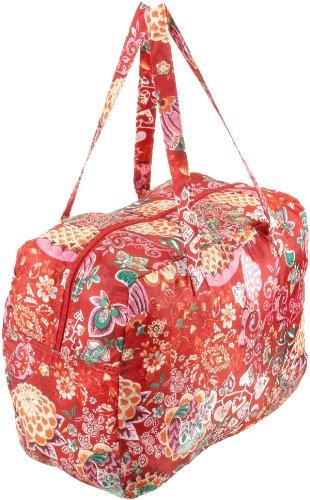 Oilily Painted Flowers Folding shopper Stone OCB0117-9000, Damen Shopper, grau (Stone 9000) 41 x 18 x 31 Rot