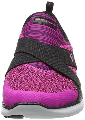 Skechers Damen Flex Appeal 2.0 New Image Sneaker Pink (Hpbk)