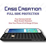 """Oppo F5 2018 Back Case, Case Creation (TM) Oppo F5 / Oppo F5 (2017) / Oppo F5 CPH1727/ OppoF5 6.0"""" Inch Ultra Thin Perfect Fitting Premium Imported High Quality Weaving 0.3mm Crystal Matte Finish Totu Silicone Black Flexible Soft Black Border Corner"""