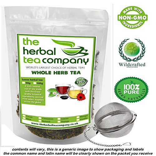 Organic Alfalfa Medicago sativa Loose Whole Herb Tea 50g Free Infuser Ball Test