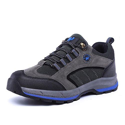 Fzuu - Chaussures Homme Gris / Bleu