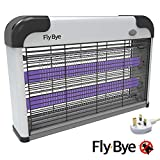Fly-Bye - Insect Killer 20W UV Light - Attract and Zap Flying Insects