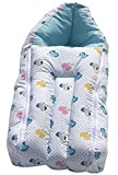 #7: BRANDONN FASHIONS 4 IN 1 ZIPPER SLEEPING BAG / BABY SAFETY CARRIER / BEDDING / BABY BLANKET FOR BABIES( Assorted Colors)