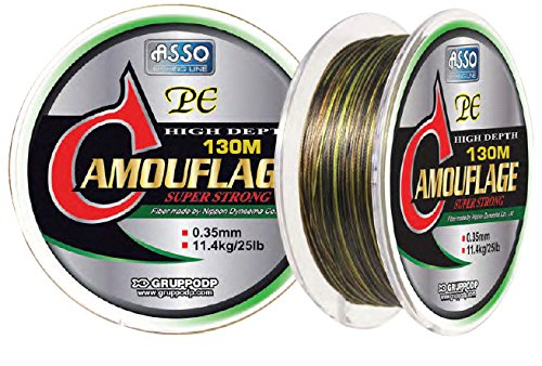 Asso - Tresse Camouflage 20/100-130 M - DYPC20CT