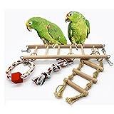 KESOTO Scala Accessori Per Gabbie Per Uccelli