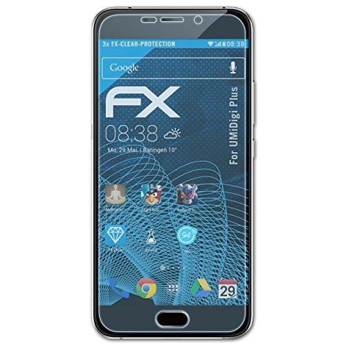 atFolix Schutzfolie kompatibel mit UMiDigi Plus Folie, ultraklare FX Bildschirmschutzfolie (3X)