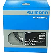 Shimano 36D M8000 XT 11V.DO.36/26 Plato, Negro, 36/26