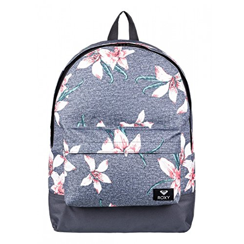 Sac à dos 1 compartiment Sugar Baby - Roxy - Charcoal Heather Flower Field