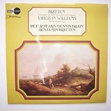 Serenade op. 31 for tenor, horn and strings