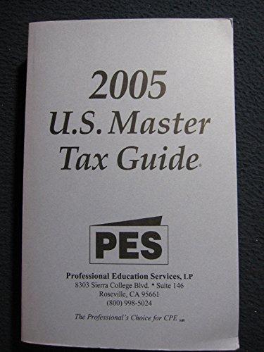 U.s. Master Tax Guide: 2005 por Unknown