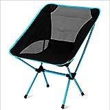 Camping klappstuhl außen, Canvas canvas Liegestühle Amerikanischen Lounge chair Aluminium Portable Ageln stuhl Leisure stuhl Liegestuhl Heavy-duty 440 lb kapazität mit tragetasche-azurblau W55xH70cm(22x28inch)