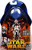 Clone Commander Battle Gear (Red Vari) No.33 - Star Wars Revenge of the Sith Collection 2005 von Hasbro
