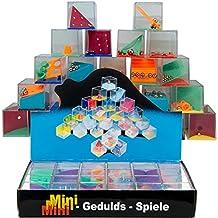 JuniorToys Geduldsspiele Mini Denkspiel Knobelspiel - Mitgebsel Kindergeburtstag - Beschäftigung für Kinder und Erwachsene
