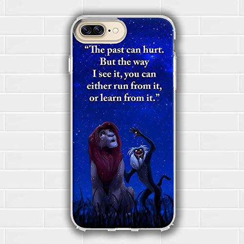 YZTEVXWE TJGWNQDG Soft Silicone Transparent Phone Back Case for iPhone 6 Plus Hülle/iPhone 6S Plus Hülle HWKIWGHX - 6 Fall King Lion-iphone