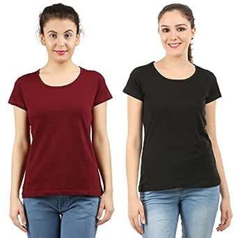 MIDAAS Women's T-Shirt (Pack of 2)