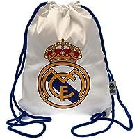 Bolsa Gymsack Real Madrid - Producto Licenciado - Medidas 42 x 34 cm.