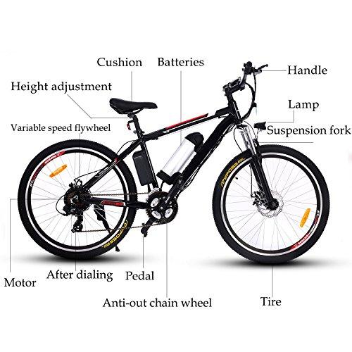 Sport & Unterhaltung 100% QualitäT Lithium-batterie Power Unterstützung Falten Elektro-bike Roller Mit Mittleren Suspension Schock 12 Zoll