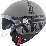 NEXX SX.60 VF MISSION matt concret grau/schwarz M