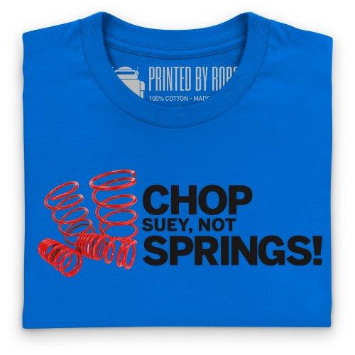 Chop Suey Not Springs T-Shirt, Herren Royalblau