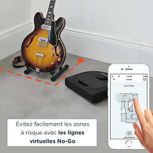 51kqOimXyWL [Bon Plan Ecovacs] Neato Robotics D450 Edition Animaux Domestiques - Compatible avec Alexa - Robot Aspirateur avec Station de Charge, Wi-Fi & App