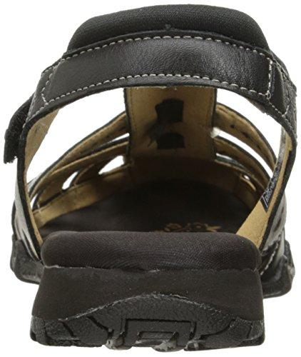 Skechers Bikers Giribaldi Flat Black Leather