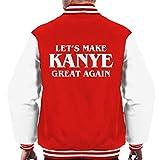 Cloud City 7 Make Kanye Great Again Men's Varsity Jacket