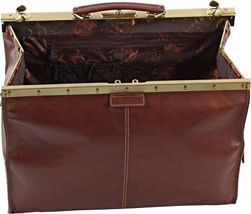 Picard Toscana Bügelreisetasche Leder 52 cm Schwarz