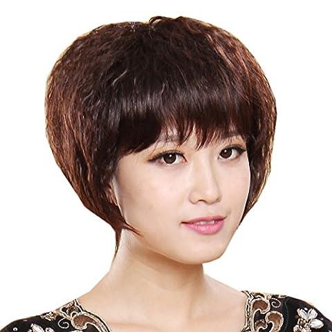 Perruque Snifgoij Cheveux Réels Femme D