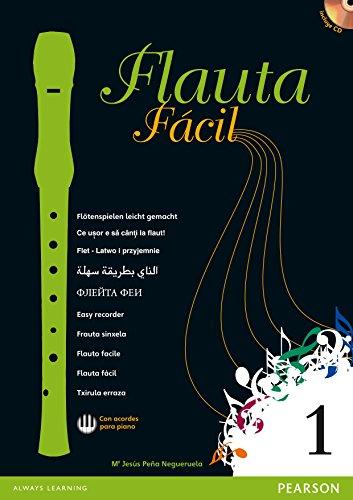Flauta fácil 1 pack con flauta Yamaha - 9788420561561