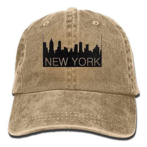 Denim Baseball Caps Hat Adjustable Cotton Sport Strap Cap for Men Women ()