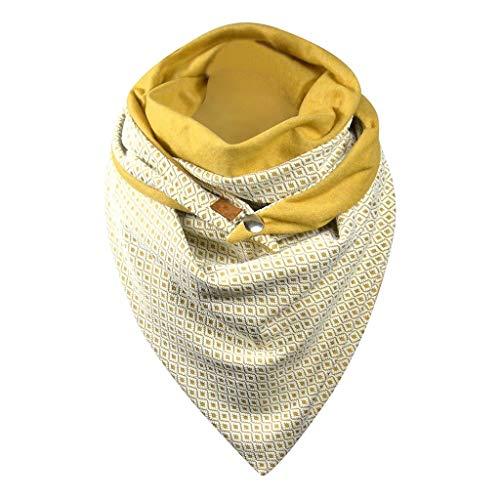 FiedFikt Bufanda para Mujer, diseño de Lunares, Suave, Informal, cálida, Chal, Bufandas