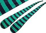 Flames N Games FUNKY® Pro Socken-Poi (JAIL-BOY) Sock Poi *keine Bälle inkl. Swinging Poi und Spinning Pois! Pois für Anfänger und Profis.