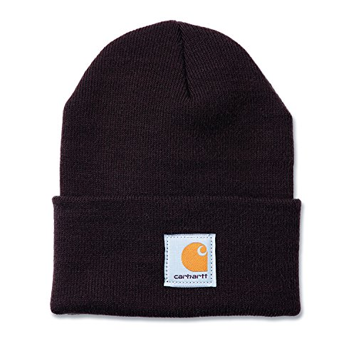 carhartt-mens-acrylic-watch-workwear-beanie-hat-dark-brown-one-size