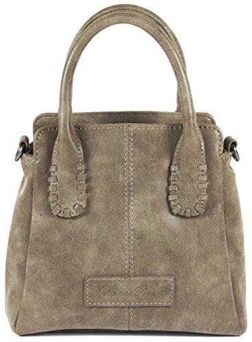 Fritzi aus Preußen Sanne Vintage Mini Bag Handtasche 21 cm Antik