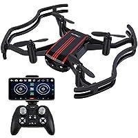 AKASO QuadcopterDroneCaméraWiFi QuadricoptèreMiniFPVHD720P2.0MPRCpourEnfantsDébutantsAdultes,Maintiendel'Altitude,ModesansTête,UnRetourdeClé,3DFlips,avec2.4GTélécommande