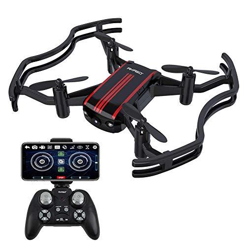 AKASO-Quadcopter-Drone-Camra-WiFi-Quadricoptre-Mini-FPV-HD-720P-20MP-RC-pour-Enfants-Dbutants-Adultes-Maintien-de-lAltitude-Mode-sans-Tte-Un-Retour-de-Cl-3D-Flips-avec-24G-Tlcommande
