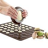 Lalang Silikon-Backmatte für Cookies, Kekse, Gebäck, Macarons