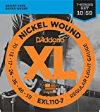 D'Addario EXL110-7 7-String Nickel Wound Electric Guitar Strings - Best Reviews Guide