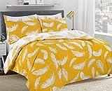 MAS International Parure de lit réversible en Polycoton avec taie d'oreiller Motif...